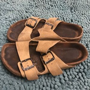 Leather Arizona Birkenstocks Sandals